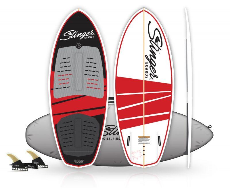 "Stinger Wake Surf 4'7"" Package"