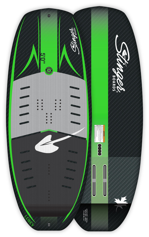 """Stinger-Lewey-5'0"""" Wind Wing Board"""